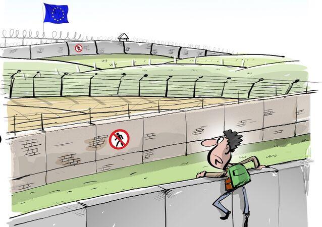 Migrants à Calais: 300 m de clôtures supplémentaires installées d'ici l'été