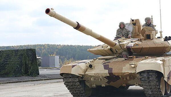 Un char de combat russe T-90 - Sputnik France