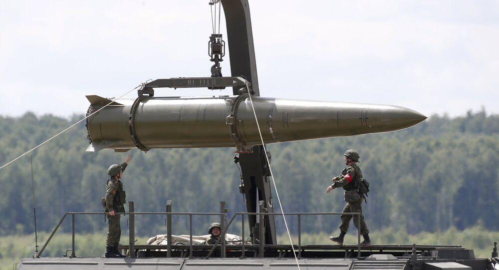 Missile Iskander