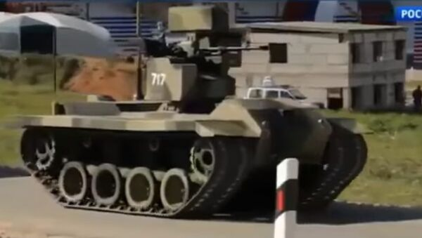 le robot de combat russe Nerekhta - Sputnik France