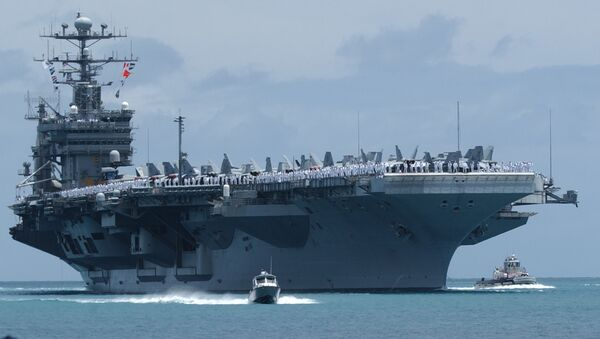 Porte-avions nucléaire USS John C.Stennis - Sputnik France