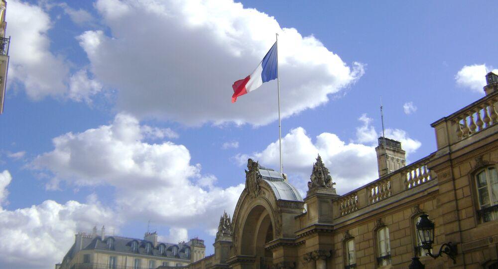Drapeau français, Élysée