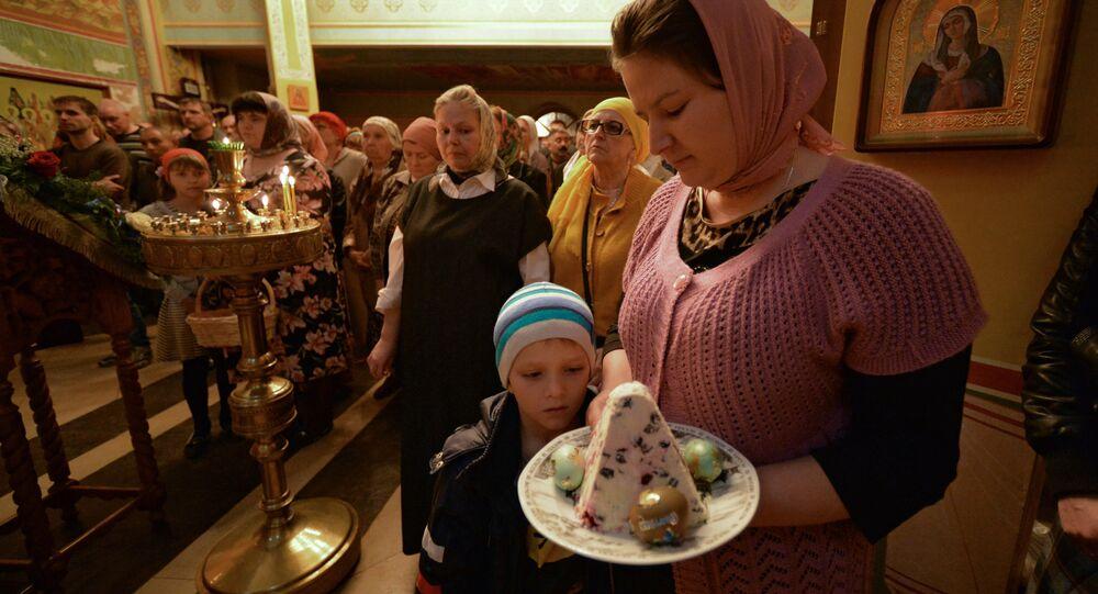 La célébration de la Pâques orthodoxe