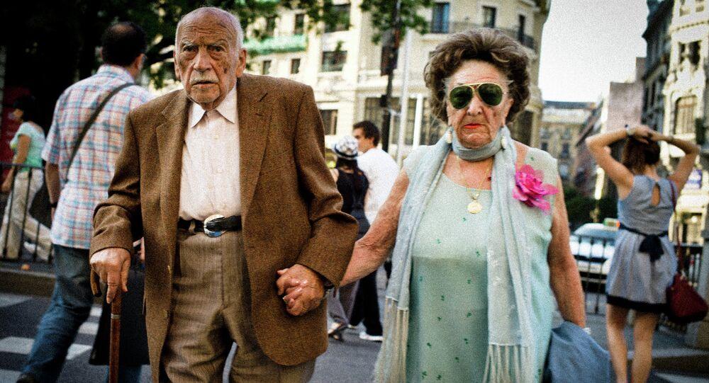 Un couple âgé