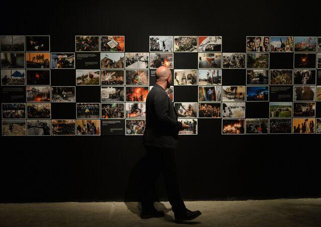 Les terroristes de Bruxelles martyres d'une exposition à Copenhague