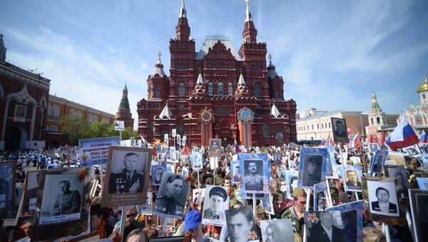 L'action Régiment immortel née en Russie en 2012 en mémoire des combattants ayant participé à la victoire sur le nazisme - Sputnik France