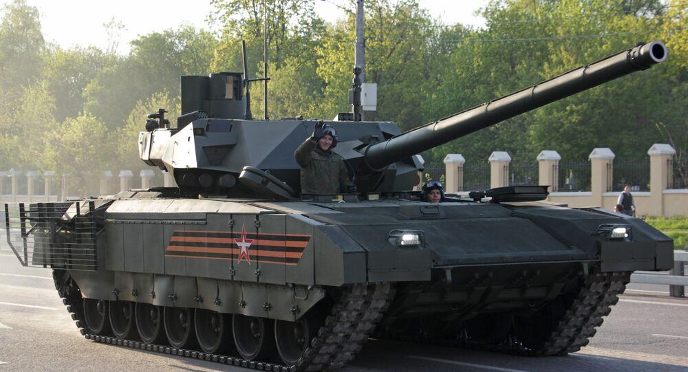 Le char russe T-14 Armata