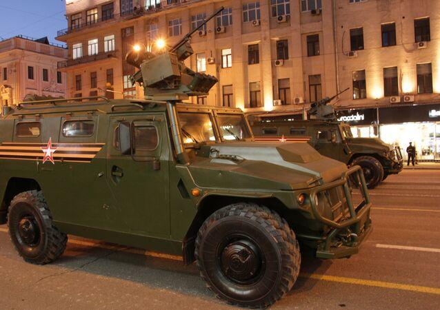 De nouveaux véhicules pour les services de sécurité présentés à Moscou (photos)