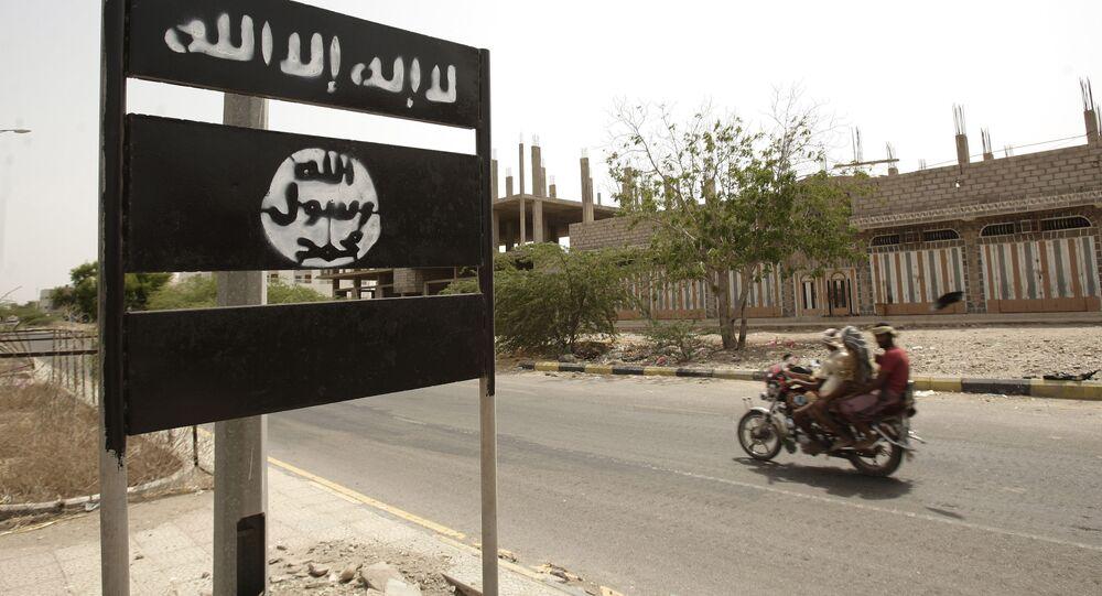 Le logo d'al-Qaïda, image d'illustration