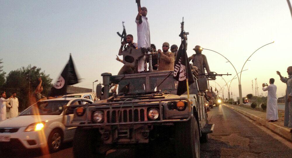 Combattants de Daech en Irak. Archive photo
