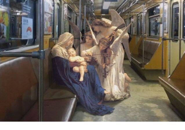Les personnages des peintures de la Renaissance dans la vie quotidienne