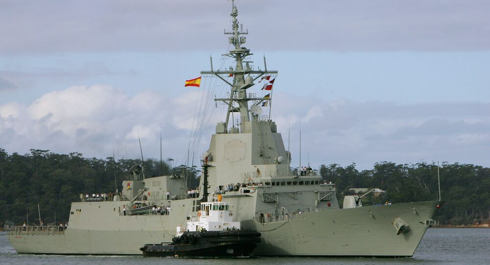 Vaisseau de la marine espagnole Alvaro de Bazan