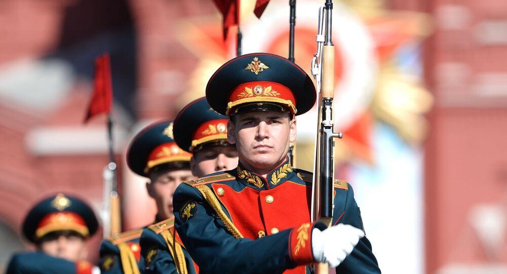 Le Défilé de la Victoire à Moscou