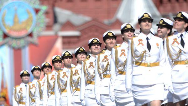 Les étudiantes de l'Université militaire du ministère russe - Sputnik France