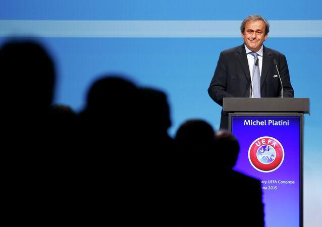 Michel Platini (photo d'archives)