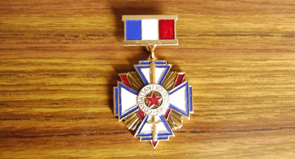 L'Association nationale des anciens combattants de la Résistance (ANACR) s'est créée. J'étais là-bas, j'ai expliqué mon cas.