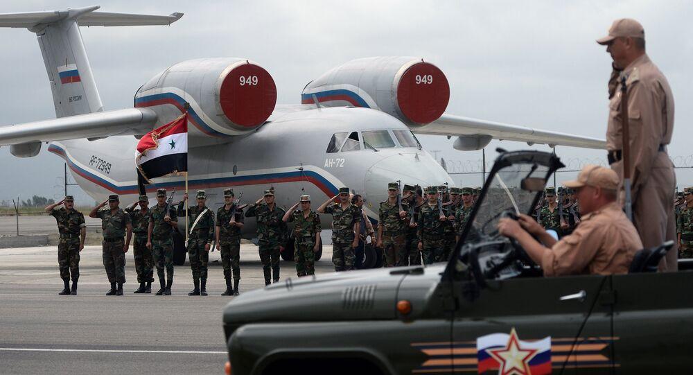Troupes russes en Syrie
