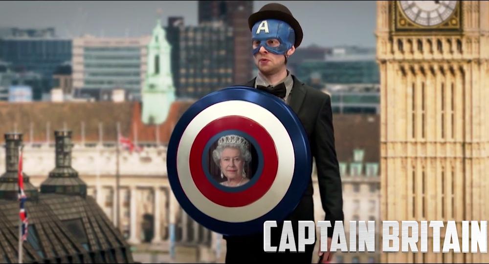Quand Captain America fait le tour de l'Europe