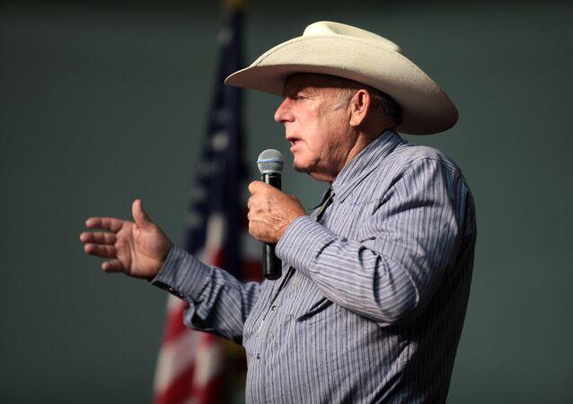 Cliven Bundy, propriétaire d'un ranch dans l'Etat du Nevada aux Etats-Unis