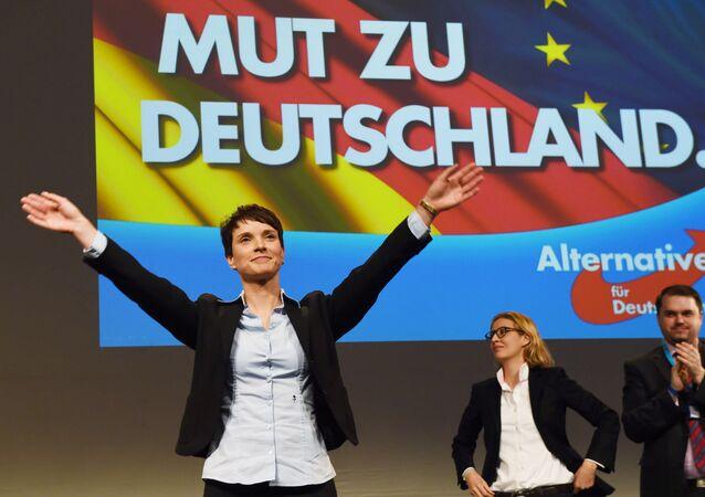 Le parti Alternative pour l'Allemagne (AfD)