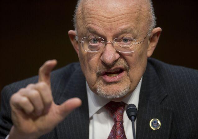James Clapper, directeur du renseignement national des Etats-Unis
