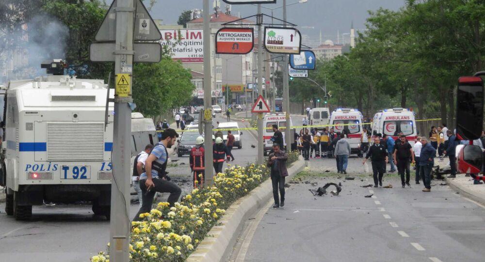 Une explosion s'est produite à Istanbul