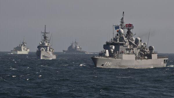 Les navires de l'Otan dans la mer Noire - Sputnik France