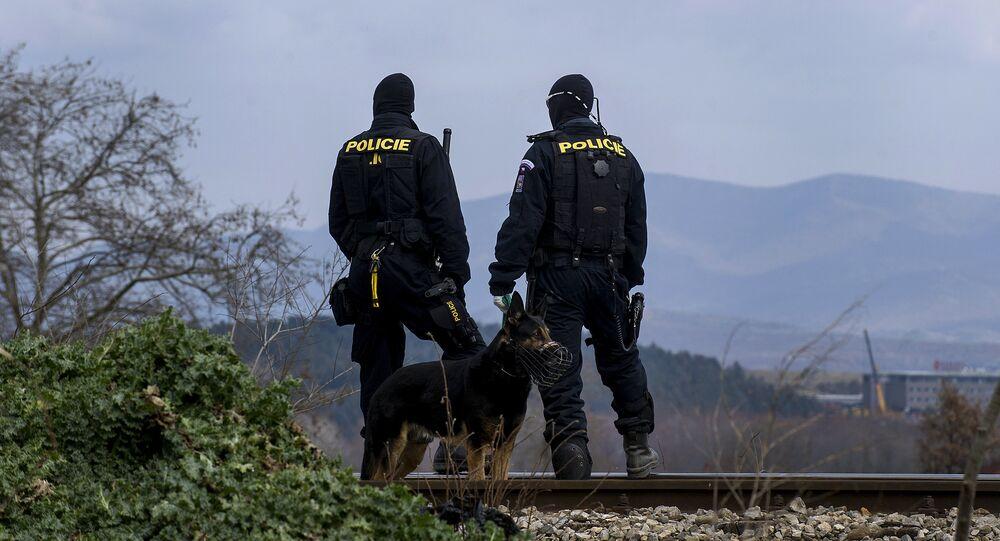 La police tchèque