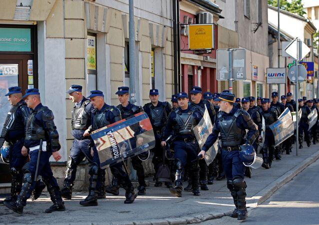 Police à Banja Luka