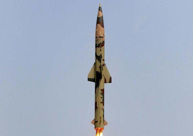 Missile balistique Prithvi-II