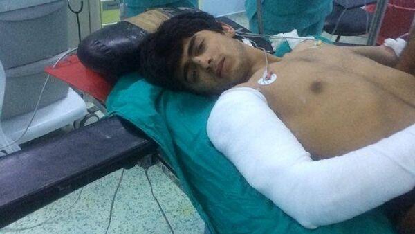Un combattant de Daech soigné à l'hôpital Ersin Aslan - Sputnik France