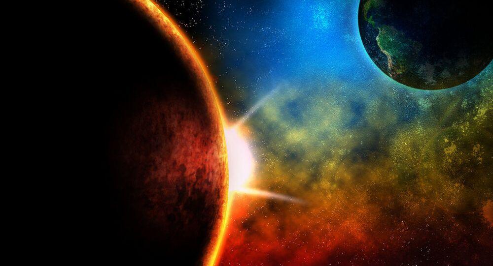 La planète rouge dans le viseur des météorites