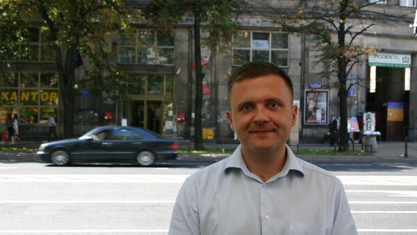 Mateusz Piskorski, le président du parti polonais Zmiana - Sputnik France