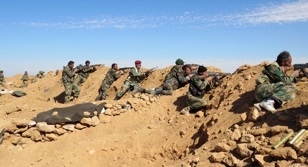 Aux abords de Raqqa