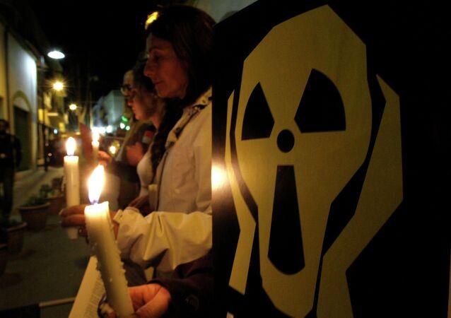 Manifestation contre la construction de la centrale nucléaire d'Akkuyu