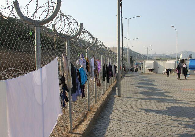 Camp de réfugiés en Turquie