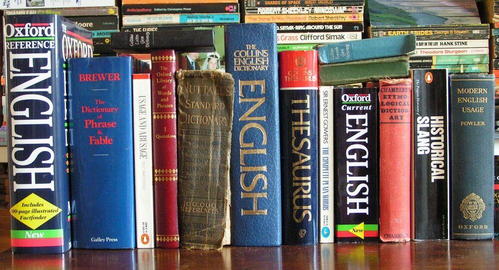 Dictionnaires anglais