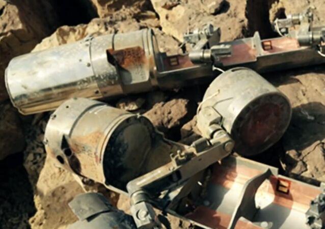 Des sous-munitions interdites ont été découvertes au Yémen. Archive photo