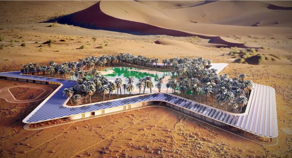 Un hôtel original au beau milieu… d'un désert