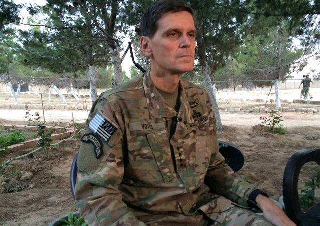 Joseph Votel en Syrie