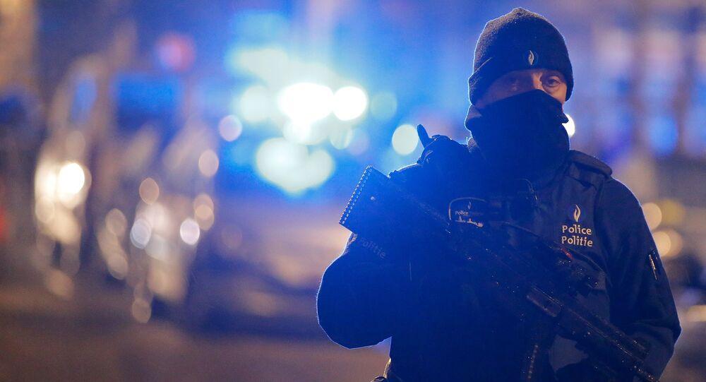 Un officier de police belge