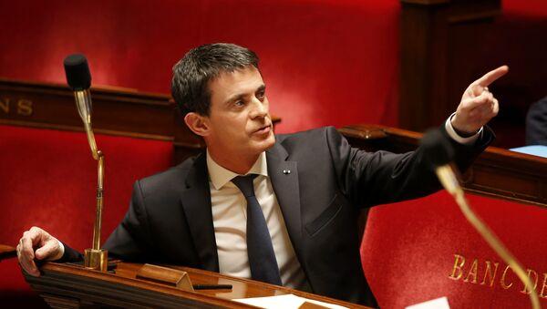 Le premier ministre Manuel Valls - Sputnik France