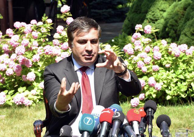 Пресс-конференция М.Саакашвили и посла США на Украине Джеффри Пайетта