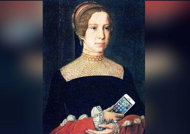 Un iPhone retrouvé sur une peinture du XVIIe siècle?