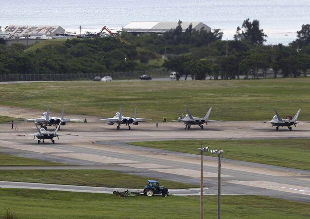 Une base militaire américaine au Japon