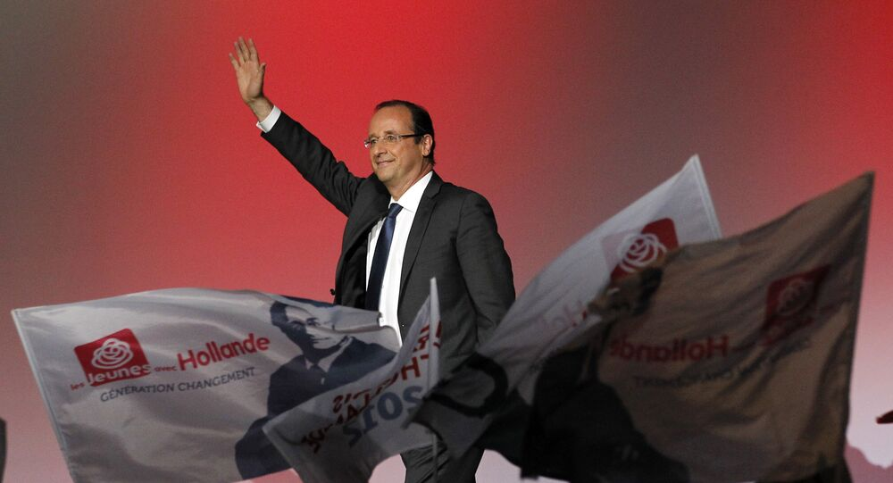 François Hollande. Archive photo