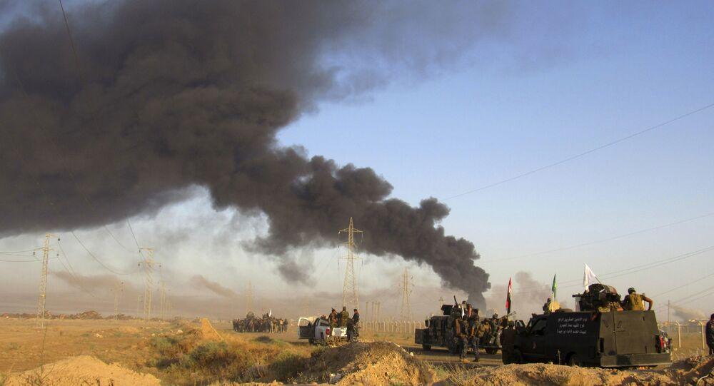 Une frappe aérienne de la coalition en Irak