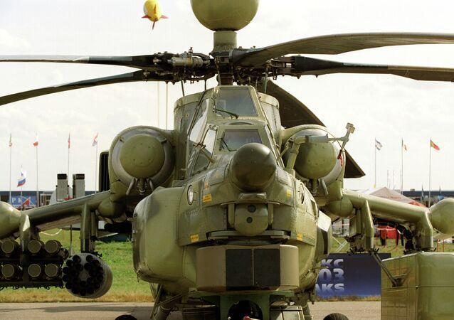 hélicoptère d'attaque russe Mi-28NE