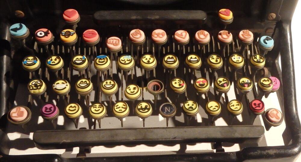 La machine à écrire d'emojis