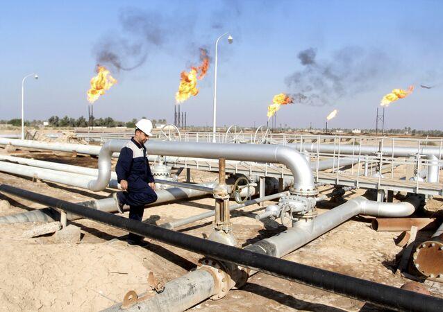 Production de pétrole en Irak (archives photo)